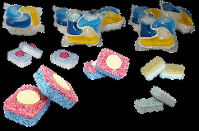 tablety pro myčky nádobí