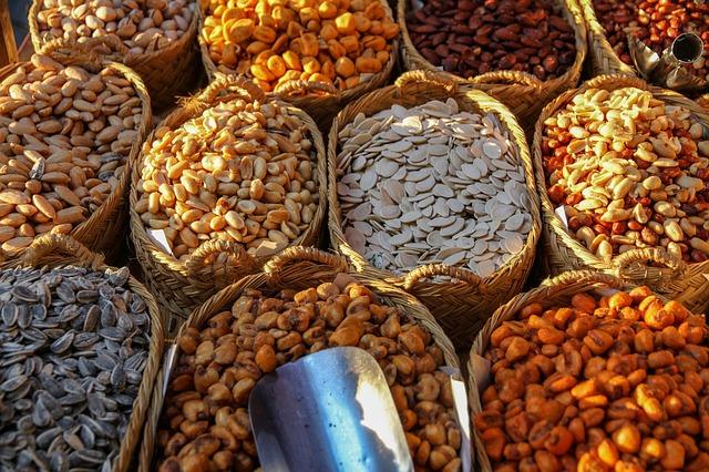 Zdravá výživa – ořechy a semena